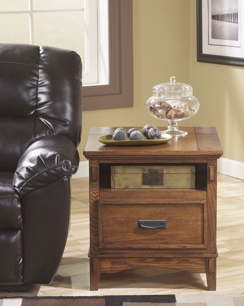 Cross Island Rectangular End Table great value, great price.