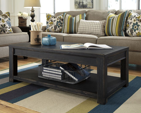 Gavelston Rectangular Cocktail Table great value, great price.