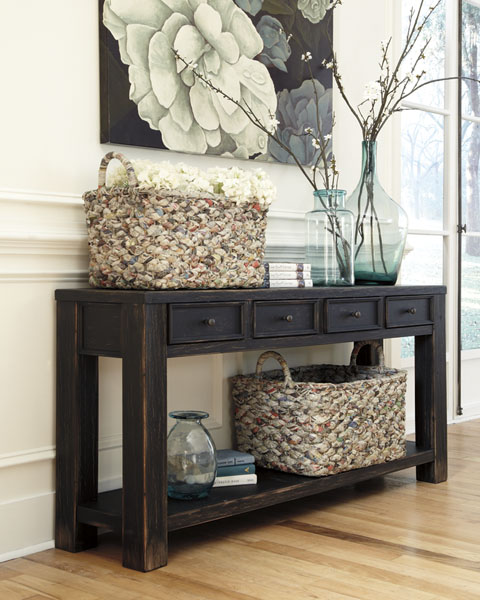 Gavelston Sofa Table great value, great price.