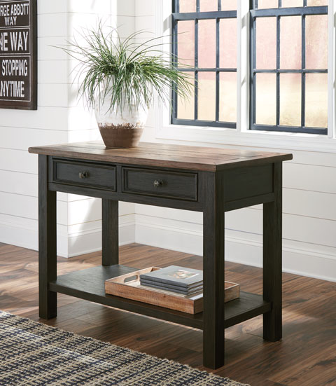Tyler Creek Sofa Table great value, great price.