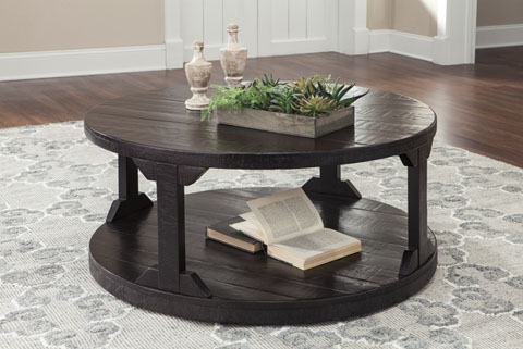 Rogness Round Cocktail Table great value, great price.