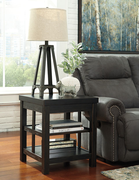 Gavelston Square End Table great value, great price.