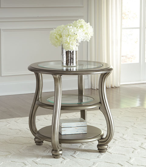 Coralayne Round End Table great value, great price.