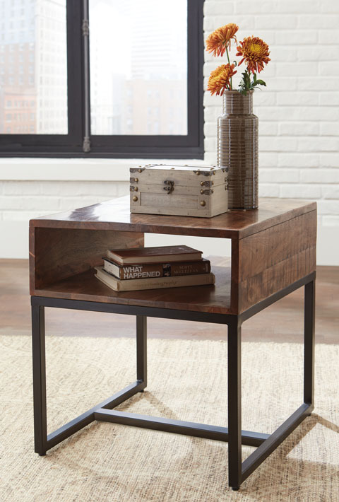 Hirvanton Rectangular End Table great value, great price.