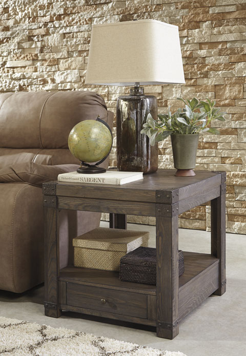 Burladen Rectangular End Table great value, great price.