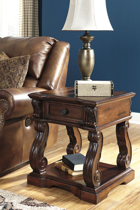 Alymere Square End Table great value, great price.