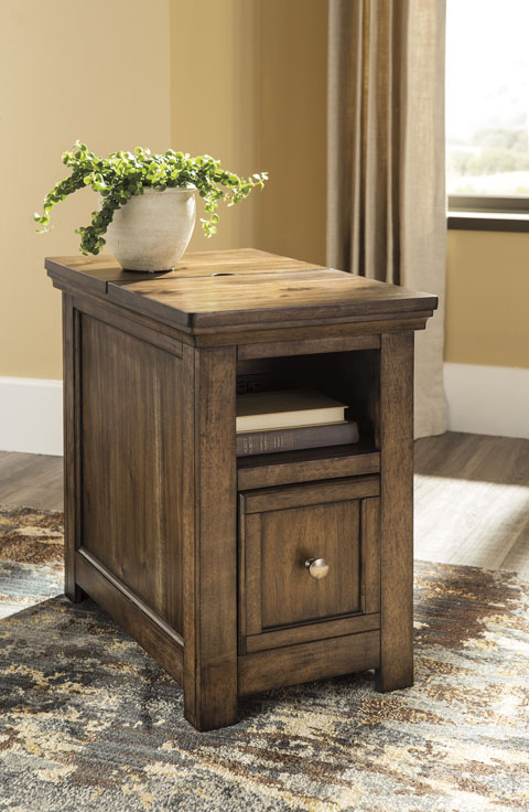 Flynnter Chair Side End Table great value, great price.
