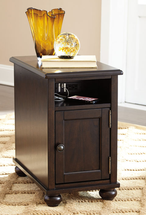 Barilanni Chair Side End Table great value, great price.