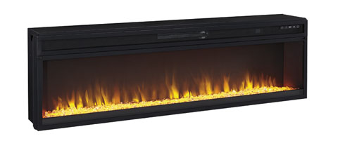 Entertainment Accessories Wide Fireplace Insert great value, great price.