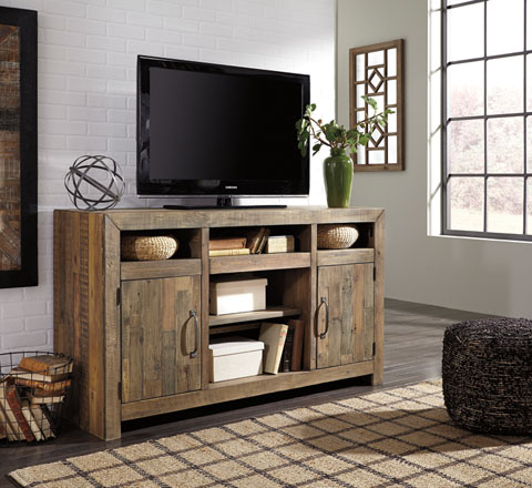 Sommerford LG TV Stand w/Fireplace Option great value, great price.
