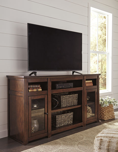 Harpan XL TV Stand w/Fireplace Option great value, great price.